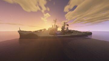 USS San Juan [CL-54] 1:1 Scale Minecraft Map & Project