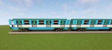 Metro train Minecraft Map & Project