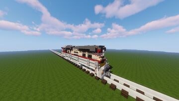 """GVC CT-8650k """"Grizzly"""" Class Diesel Locomotive Minecraft Map & Project"""