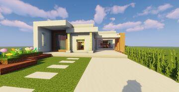 Top 5 Modern House #3 (Map + Schematics) Pt4 Minecraft Map & Project