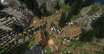 Knifepoint Ridge (Skyrim TES) Minecraft Map & Project