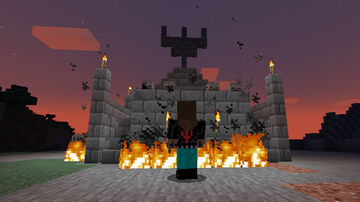 The altar of the Metal Gods Minecraft Map & Project