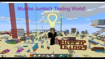 Mumbo Jumbo's Testing World! Minecraft Map & Project