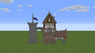 Medival Castle Download Minecraft Map & Project