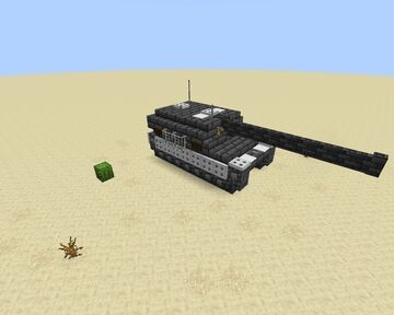 Tank number 2 Minecraft Map & Project