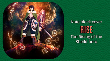 Rise - The Rising of the Shield Hero - Minecraft Note Block Cover Minecraft Map & Project