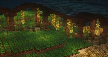 Paradise Farm - Zen Garden Minecraft Map & Project