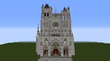 Amiens cathedral Minecraft Map & Project