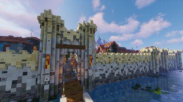 Santuario - A venice like, fantasy, minecraft city Minecraft Map & Project