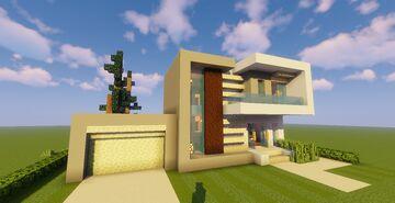 Top 5 Modern House #2 (Map + Schematics) Pt4 Minecraft Map & Project