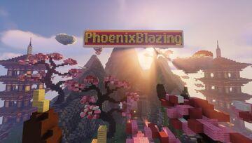 PhoenixBlazingSpawn Minecraft Map & Project