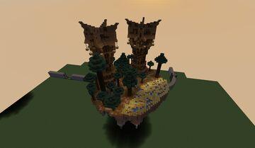 Wizard's Island Minecraft Map & Project