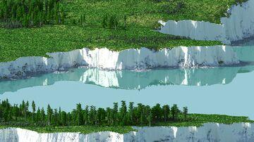 Cream Cliff - 5000x5000 | Landscape Map 1.16 Minecraft Map & Project