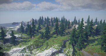 Mountains of Sealake - A european mountainous terrain Minecraft Map & Project
