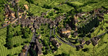Turenne - BTE 1:1 scale Minecraft Map & Project