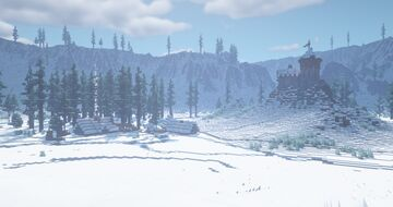 Skutve Fjord Village & Castle Minecraft Map & Project