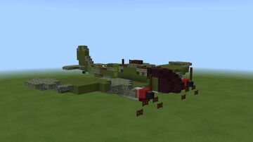 Heinkel HE-111 Minecraft Map & Project
