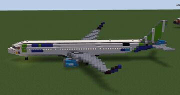 Bamboo Airways Airbus A321-251N ACF Minecraft Map & Project