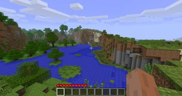 Title screen world Minecraft Map & Project