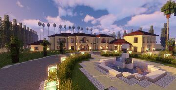Mansion #5 (Map + Schematics) Minecraft Map & Project