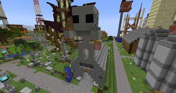 The Spawnington Crypt Minecraft Map & Project