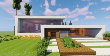 Top 5 Modern House #1 (Map + Schematics) Pt4 Minecraft Map & Project