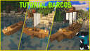 Ships / Barcos (tutorial) Minecraft Map & Project