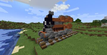 Minecraft  steam engine but TheDream31 Minecraft Map & Project