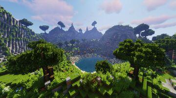 Jump&Run Mountain Minecraft Map & Project