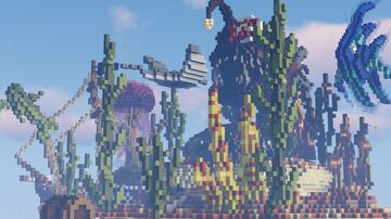 Lobby (Spawn) - Aquatic | 1.8 - 1.17 || 15$ || Minecraft Map & Project