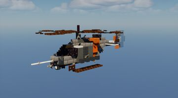 ARH-70 Arapaho - 1.5:1 Scale Minecraft Map & Project
