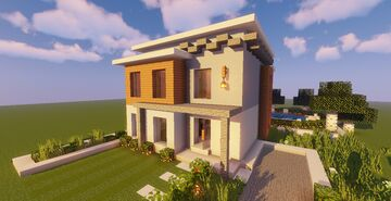 Modern House #115 (Map + Schematic) Minecraft Map & Project