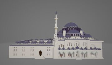 Şehzade Cami (Prince's mosque) Minecraft Map & Project