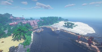 Barracuda Island (pirate bay contest entry) Minecraft Map & Project