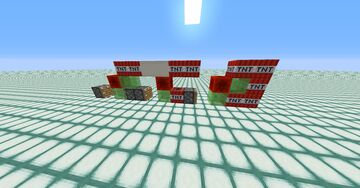 Minecraft TNT Missile   Tiny Max   1 Block Wide   Minecraft Map & Project