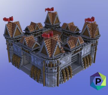 Castle Factions Spawn | 1.8+ Minecraft Map & Project