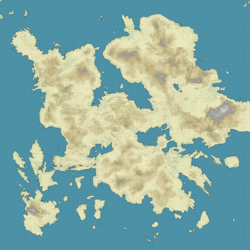 carthography map
