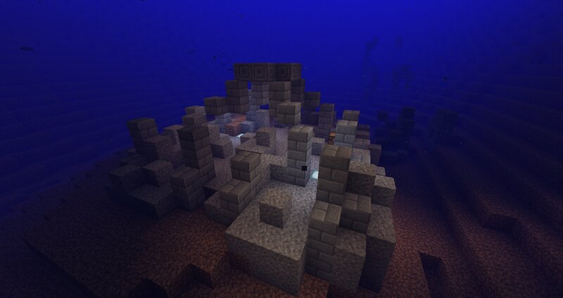 also underwater ruins are now added