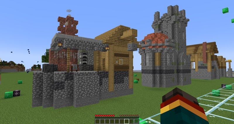 added cellars, 1.17 blocks and new loot, interieur, secrets and traps