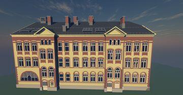 Hartvig Nissens School from SKAM, Oslo, Norway Minecraft Map & Project