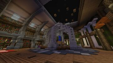 Tardis Project 1.0 Ver. All Interiors  1.16.5. 65% Complete Minecraft Map & Project