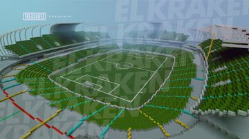 """Estadio Mazatlán """"El Kraken"""" (Mazatlán Fútbol Club)   Minecraft Pocket Edition Minecraft Map & Project"""