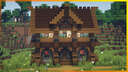 ⚒️ Minecraft: Aesthetic Medieval House Minecraft Map & Project