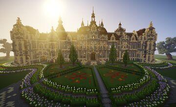 Victorian castle [1.16+] +interior Minecraft Map & Project