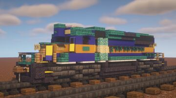 """CSX - EMD GP40-2 """"HLCX Leased Power"""" Minecraft Map & Project"""