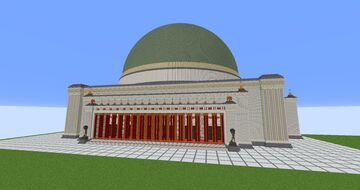 Volkshalle / Great Hall - Germania Minecraft Map & Project