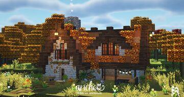 Autumn Cottage 🍂🍁 Minecraft Map & Project