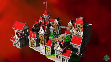 ⭐ EXCLUSIVE ⭐ Khiza Castle - AliensBuilds 🏰 Minecraft Map & Project