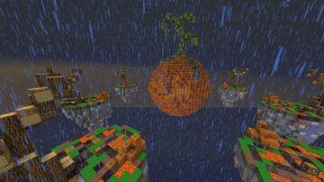 Halloween Skywars Map Minecraft Map & Project