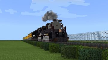 Union Pacific 4664-4 4-6-6-4 Challenger 3985 Minecraft Map & Project